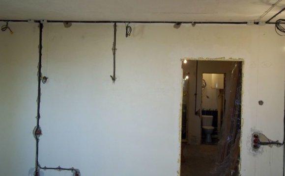 Электропроводка в доме своими